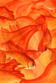 Вдохновение цветом [ Orange tones ] Color inspiration