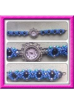 Beaded watch made by me!