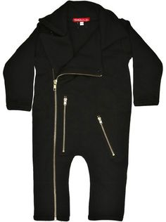 Biker Jacket playsuit - Onesies | Oh Baby London - £30.00