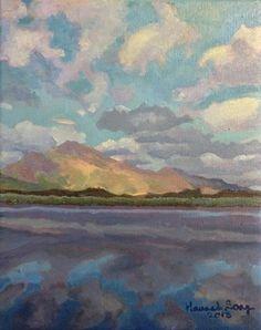 "Hannah Seng ""Inch Beach"" original oil on canvas, 10 x Scotland Travel, Ireland Travel, Solo Travel, Time Travel, Inch Beach, Original Artwork, Original Paintings, September 2013, Oil On Canvas"