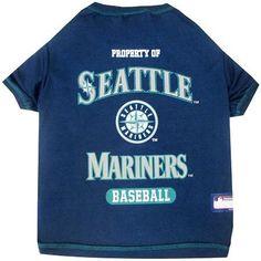 Seattle Mariners Baseball Dog Shirt Small