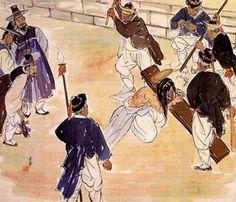 The Scourging at the Pillar, by Kim Ki-chang #koreanjesus