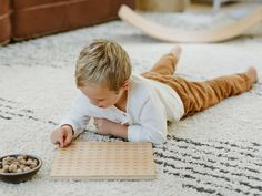 Learning at home should seamlessly blend form and function, beauty and practicality. Our handmade wooden number boards are designed with multiple uses in mind - as a tabletop reference board, a piece of art in a playroom or homeschool environment, a tracing tool, and a large, sturdy surface for counting and number games or math practice. Inspired by Montessori-style natural materials and the concept of sandpaper letters, this engraved alphabet allows children to trace their fingers in the groove Playroom Rug, Montessori Playroom, Banner Stationery, Birthday Menu, Wooden Numbers, Engraved Cutting Board, Math Practices, Modern Fonts, New Home Gifts