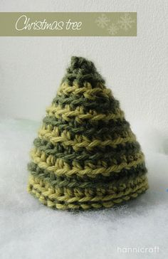 hannicraft: Crochet Christmas Tree