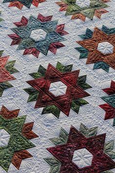 Daybreak Quilt Pattern (avalible from Jaybird Quilts) Machine quilting by: Kathy Schwartz from Tamarack Shack Longarm Quilting tamarackshack.blogspot.com http://www.tamarackshack.ca/