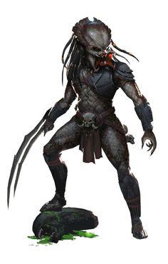 Blood Predator, MK -19 on ArtStation at https://www.artstation.com/artwork/o1JOk