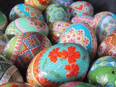 Duck Egg Pysanky  by Katrina Lazarev  2012