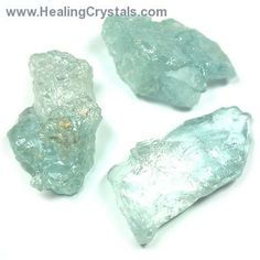 """Light Blue Topaz can be helpful for providing emotional support, repelling negativity, and cultivating the knowledge that """"all is as it shou..."""