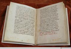 manuscript De re culininaria (sometimes De re coquinaria), attributed to Apicius. Bullet Journal, Writing, History, Books, Recipes, Culture, Cooking, Kitchen, Historia
