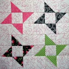 Block 40 designed by Barb Groves and Mary Jacobson: Flights of Friendship