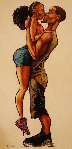 Nude African American Art 106