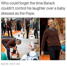 Who Could Forget The Time Barack Couldn't Control. ~ Memes curates only the best funny online content. The Ultimate cure to boredom with a daily fix of haha, hehe and jaja's. Stupid Funny, Funny Cute, The Funny, Funny Stuff, Random Stuff, Dankest Memes, Funny Memes, Jokes, Haha