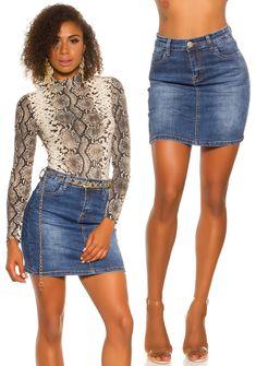 Farmer, Denim Skirt, Skirts, Fashion, Moda, Fashion Styles, Farmers, Skirt