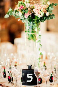 30 idées tendances pour décorer vos tables de mariage en 2016 Image: 7