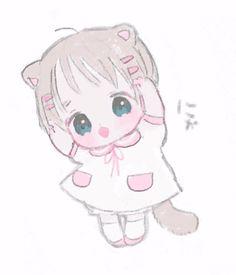 Lolis Anime, Anime Chibi, Anime Art, Kawaii Chibi, Cute Chibi, Kawaii Anime, Sailor Moon Wallpaper, Kawaii Illustration, Natsume Yuujinchou