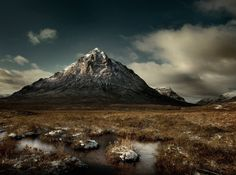Buachaille Etive Mor, which stands at the entrance to Glencoe