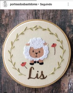 Diy Embroidery Patterns, Hand Embroidery Flowers, Baby Embroidery, Embroidery Sampler, Embroidery Hoop Art, Embroidery Stitches, Learning To Embroider, Punch, Crafts