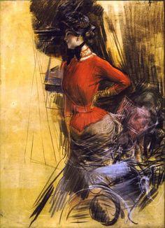 Giovanni Boldini Giovanni Boldini, John Singer Sargent, Manet, Italian Painters, Italian Artist, Belle Epoque, Pierre Auguste Renoir, Impressionism Art, Oeuvre D'art