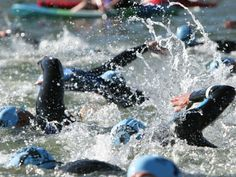 Race Rehearsal Tips for the Triathlon Swim Leg   Active.com