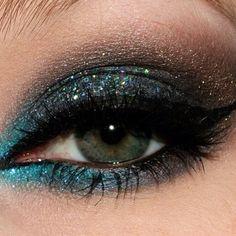 Glitter eyeshadow eyes girl makeup glitter pretty eyeshadow make-up
