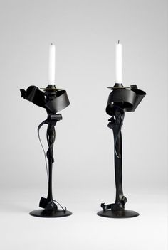 the modern archive - Candle Holders (Limited Edition) by Albert Paley