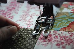 Tutorial: Machine Quilting (from Anyone Can Quilt)