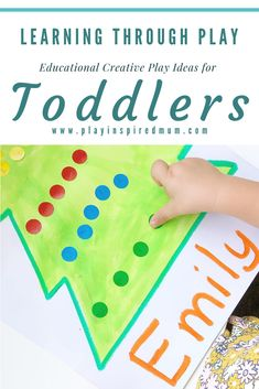 Are you looking for educational activities to do at home with your toddler? Here is a great collection of creative play ideas, sensory play ideas and so much more that are easy to set up at home! Morning Activities, Activities To Do, Educational Activities, Toddler Activities, Learning Through Play, Kids Learning, Age Appropriate Chores, Play Ideas, Creative Play