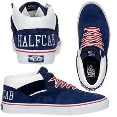 8eb04b965d Vans Half Cab College Blue...always loved these