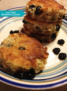 Low Carb Blueberry Scones | designing charlie