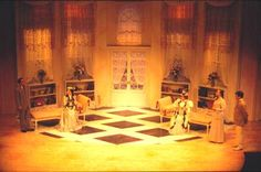The Importance of being earnest set (inspiration)
