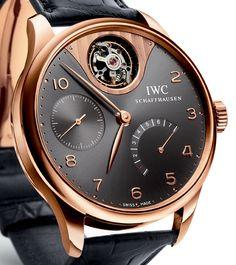 IWC Portuguese Tourbillon Mystère Watch - Copper