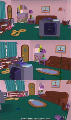 37 Best Simpsons Living Room images | The simpsons, The ...