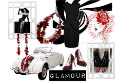 Glamour by jananaggashop on Polyvore featuring MICHAEL Michael Kors and Worlds Away
