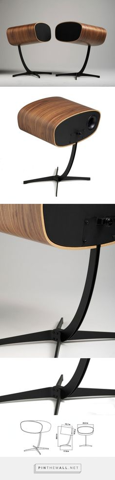 davone speakers references classic charles and ray eames chair - created via http://pinthemall.net