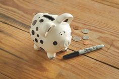 Sharpie® Ceramic Piggy Bank - everyone makes their personal piggy bank. Family Day, Sharpie, Piggy Bank, Crafty, Ceramics, Fun, Craft Ideas, Bear, Ceramica