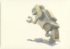 robot / running