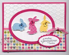 Ears to You Easter by Julie Bug - Cards and Paper Crafts at Splitcoaststampers Stampin' Up!