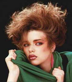 why was hair in the 80's so big? The girls and the guys used so much hair spray!