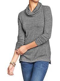 Women's  Cowl-Neck Sweater-Knit Tops
