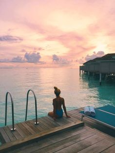 The Maldives sunset water villa ,Kandima Resort 20 Photos to Inspire You To Visit The Maldives - Kandima Resort ell.k ella_kauppi HONEYMOON MALDIVES The Maldives sunset water villa ,Kandima Resort ell.k The Maldives sunset wate Maldives Honeymoon, Visit Maldives, Honeymoon Vacations, Maldives Travel, Honeymoon Destinations, Dream Vacations, Romantic Vacations, Romantic Travel, Maldives Voyage