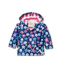 642fda759 Hatley - Baby Baby-Girls Infant Raincoat Summer Garden Beat the rainy day  blues with Hatley s awesome infant raincoats. Featuring our comfy terry  lining and ...
