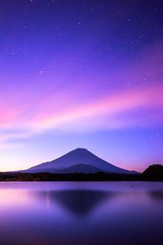 Mt. Fuji - Syouji Lake in Japan.