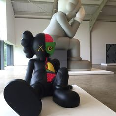 KAWS sculptures at Yorkshire Sculpture Park
