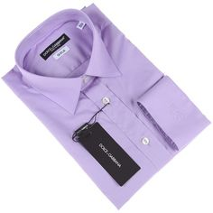 Dolce & Gabbana dress shirt in light purple on mysale.com