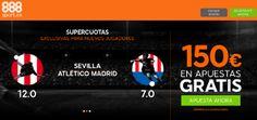 el forero jrvm y todos los bonos de deportes: 888sport bienvenida 150 euros + supercuota 12 o 7 ...