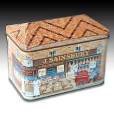 "Advertising House Shaped Tin ""J Sainsbury Turn Of The Century Shop"" - 1996 