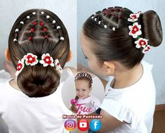 Lil Girl Hairstyles, Hairstyles For School, Down Hairstyles, Braided Hairstyles, Hair Dos, My Hair, Beauty Skin, Hair Beauty, Let Your Hair Down