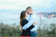 San Francisco Engagement Session - Kori & Jared Photography - Presidio, Golden Gate Bridge, Chrissy Field - San Francisco Weddings