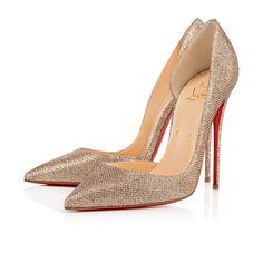 e9baffad9d4 Shoes - Iriza - Christian Louboutin Gold Glitter Shoes