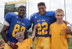 Annual Blue-Gold football game set for Saturday, includes students from Christiana, Glasgow and Newark High Schools [Newark Post: June 15, 2016]